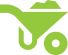 mulching icon in green